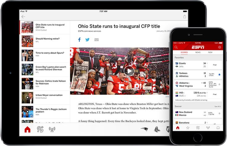 ESPN Sports Scorer: Must Have App