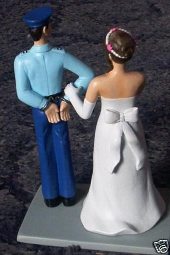 police officer wedding cake topper 1000 ideas about officer wedding on 18672