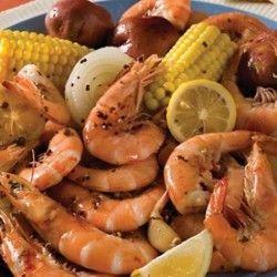 Recipe for a Louisiana-style Shrimp Boil