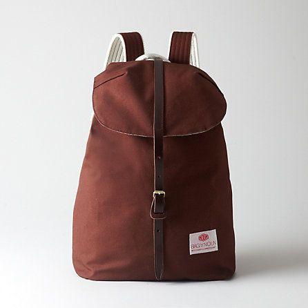 Bag'N' Noun Canvas Knapsack | Mens Accessories | Steven Alan