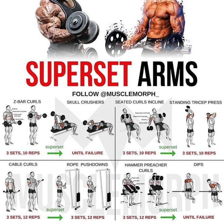 Upper Body Training & Superset Biceps Blast