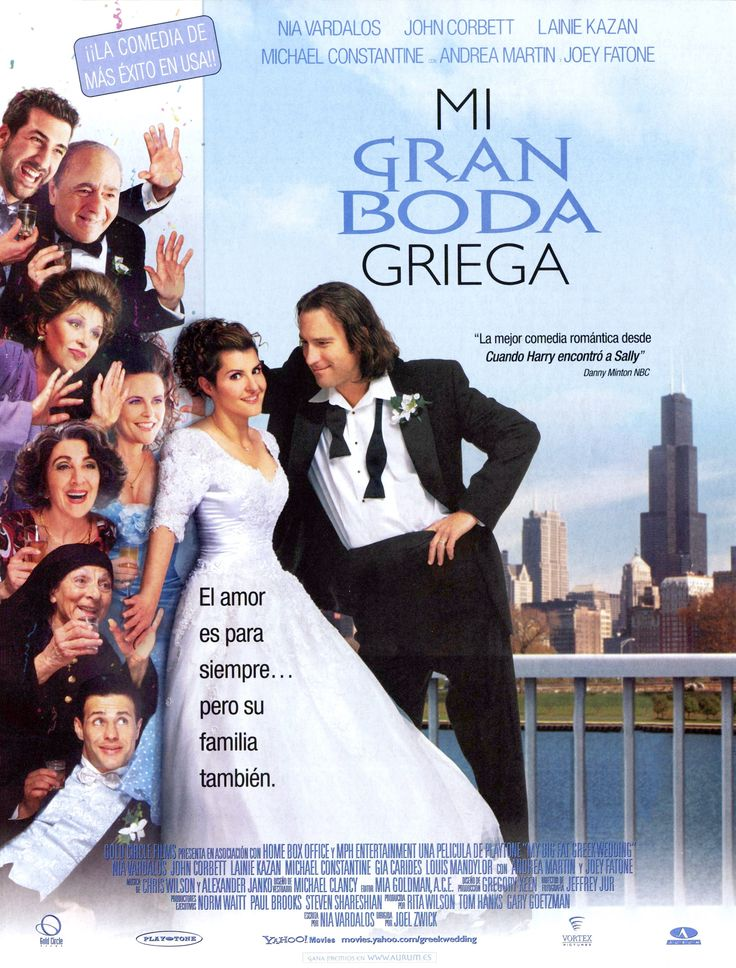 2002 - Mi gran boda griega - My Big Fat Greek Wedding - tt0259446