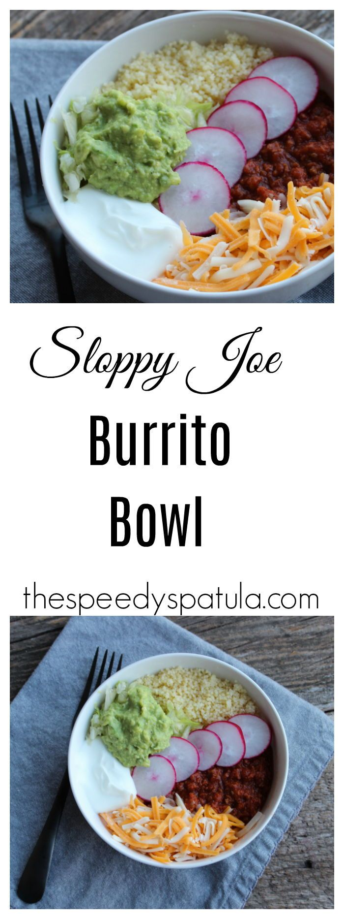 Homemade Sloppy Joe mix combines with all of the wonderful flavors of a burrito.  #thespeedyspatula #sloppyjoe #burrito #dinner #recipe #recipes #dinnerideas #dinnerrecipe #mealideas #lowcarb #keto #ketogenic #healthyrecipe #healthydinner #ketogenicdiet #lowcarbddiet #ketodiet