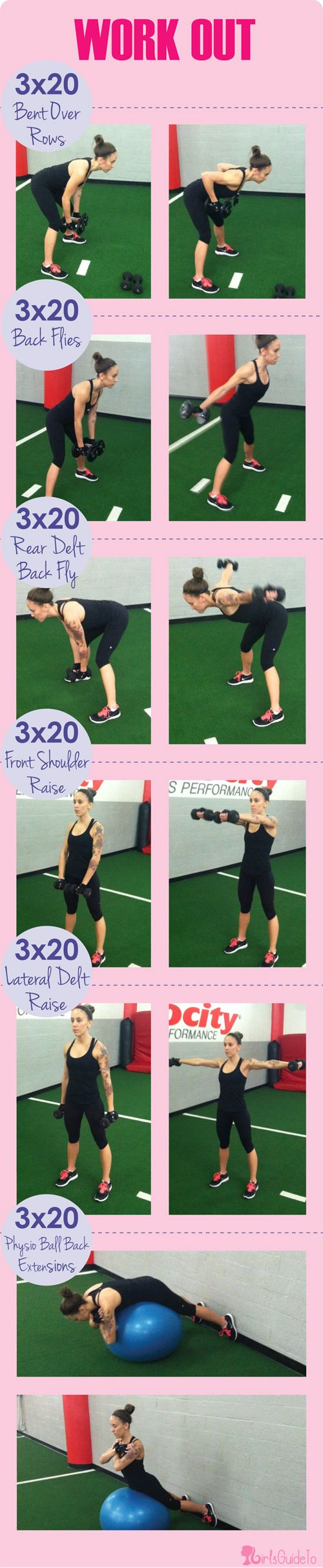 Workout Wednesday: Stand Up Straight Forever!   GirlsGuideTo