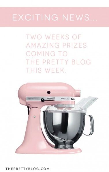 Big Giveaways to Celebrate the new Pretty Blog