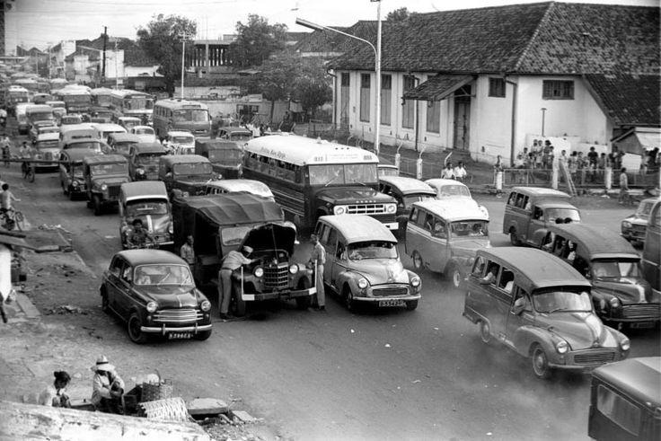 Foto Jalanan di Jakarta tahun 1971