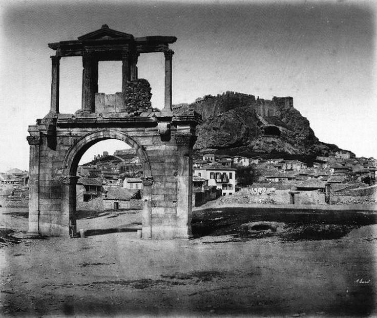 παλιά Αθήνα-Αθήνα–Ακρόπολη-Πύλη του Αδριανού-