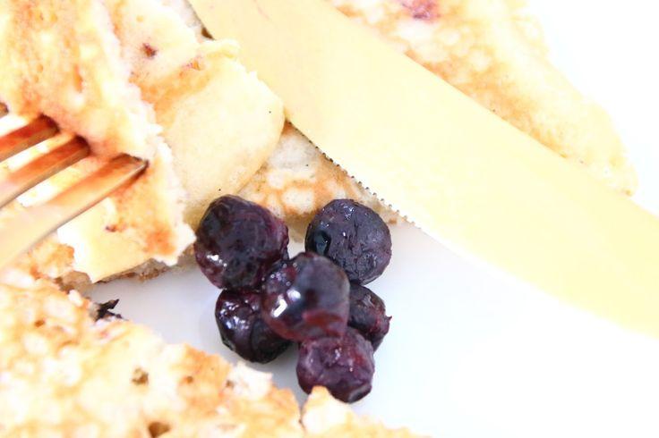 #Blueberry buttermilk #pancakes