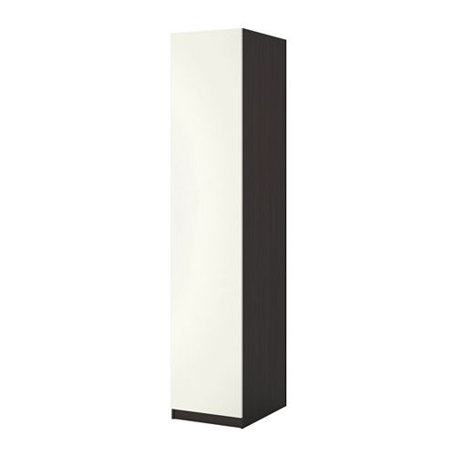 PAX Armoire-penderie - 50x60x201 cm, charnière fermeture silencieuse - IKEA
