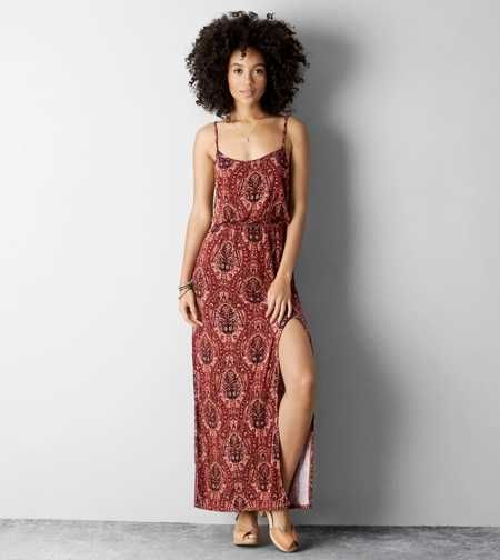 AEO Cinched Maxi Dress. One and done. #AEOSTYLE