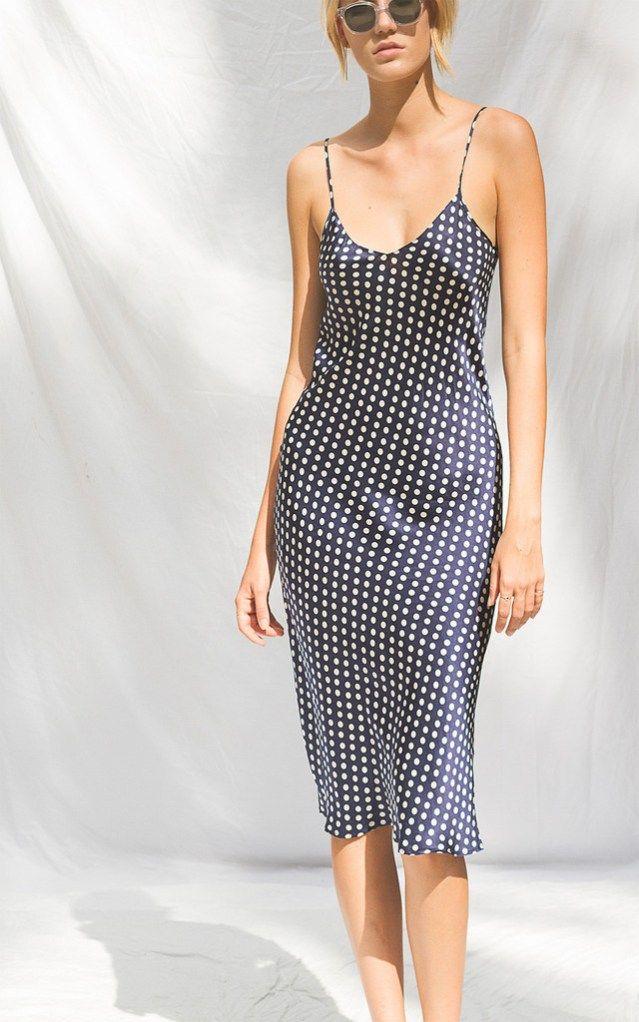 d3090da64e02 Return to 90s Hot Trend; Slip Dresses For The Day   Style Dreams ...