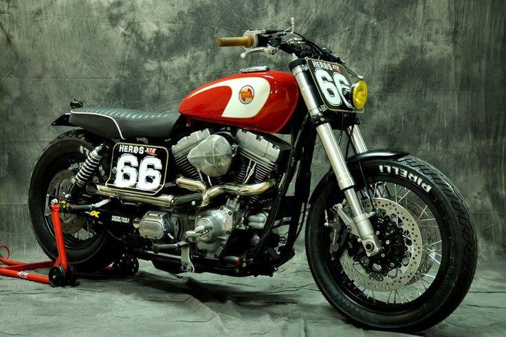 Harley-Davidson Dyna Super Glide by XTR Pepo (1)
