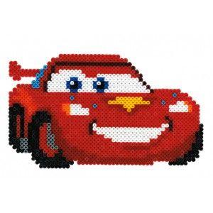 Disney Cars, Lynet McQueen, Francesco Bernoulli, 4000 HAMA midi perler