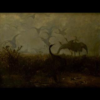 Żurawie, 1871, Muzeum Narodowe Kraków. Sztuka rozumienia sztuki...: Chełmoński... geneza polskości