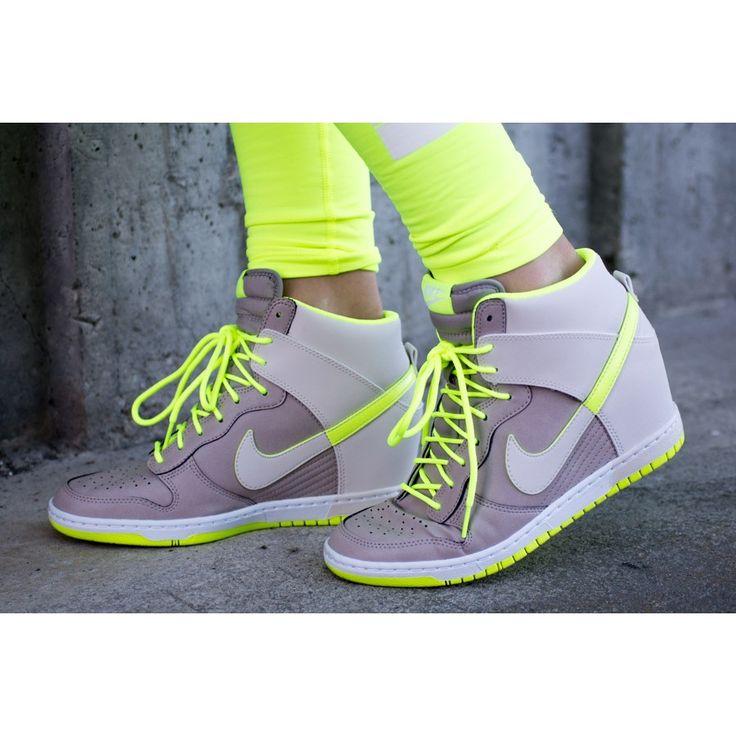 Nike Dunk Sky Hi fra Getinspired. Om denne nettbutikken: http://nettbutikknytt.no/getinspired-no/