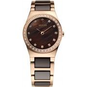 Bering High Tech Ceramic Watch. Rose Case,Sapphire Glass, Part Ceramic Band, €299