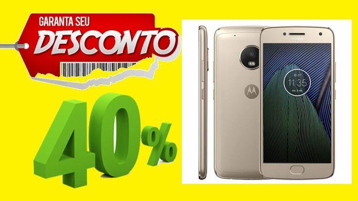 Smartphone Moto G5 Plus Ouro Motorola com Tela de 5,2 52% DESCONTO