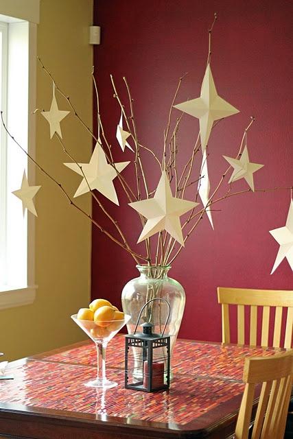 Best star centerpieces ideas on pinterest