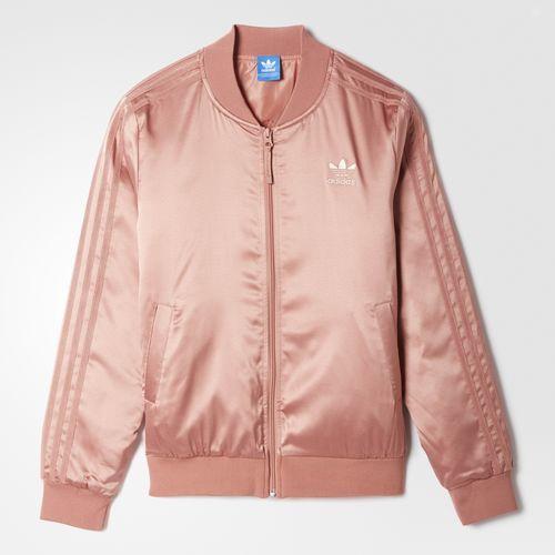 Adidas Damen Fitness Jacke Sportjacke m. Kapuze Hoody pink Verve rosa