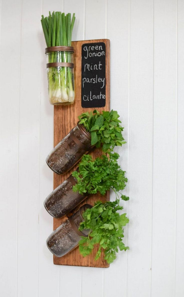The Best Indoor Herb Garden Ideas for Your Home and Apartment (No 32)
