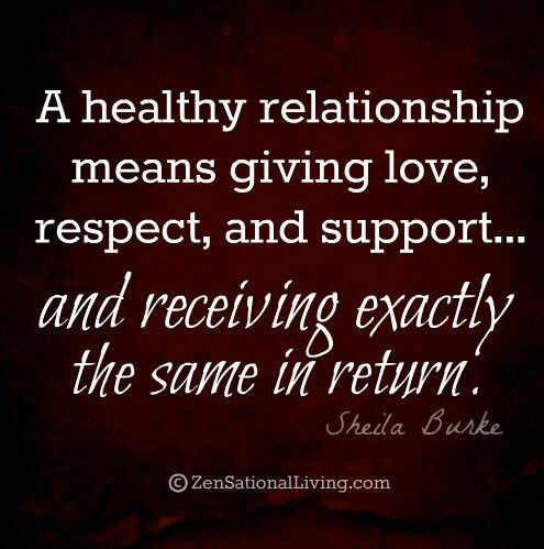 give and take in a relationship meaning of
