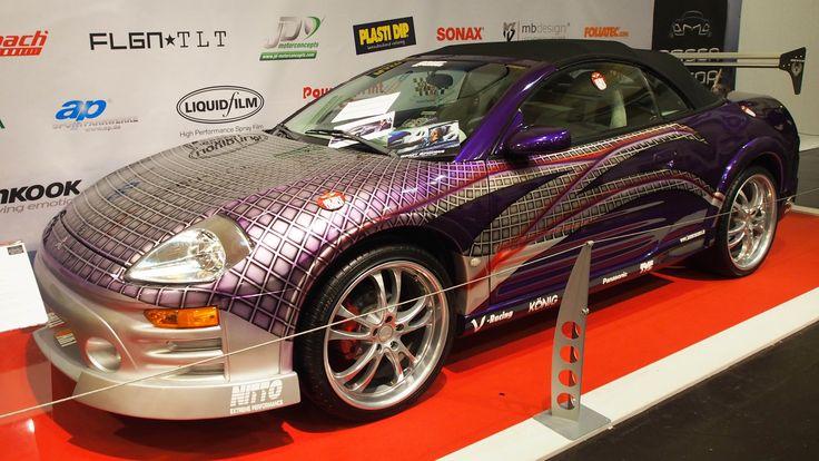 Mitsubishi Eclipse Spyder GTS at Essen Motorshow - Exterior Walkaround