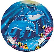 Dolphin Party Lunch/Dinner Plates
