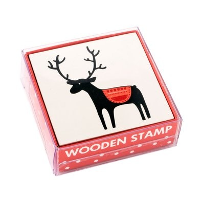 Christmas Wooden Deer Stamp $4.95 - Add the finishing touches to your gorgeous Christmas wrapping with this cute Wooden Stamp.