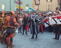 Mountain Carnival in Aosta, Italy    http://aosta-valley.co.uk/aosta-town.htm