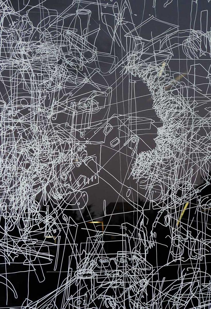 Gosia Wlodarczak  Frost Drawing GoMA (2012)