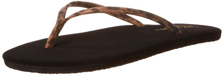 """Cobian Womens Women's Nias Flip Flop, Leopard, 7 M US. Started in the mid 1990's, Cobian designs sandals that are clean, unique and stylish. Cobian sandals are made from the most durable and resilient materials found anywhere in the world. Cobian is a family built on solid values and they stand behind all of their products. The Cobian motto is """"Walk With Us"""" encouraging you to make them a part of your life journey."""