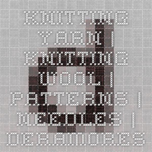 Knitting Yarn | Knitting Wool | Patterns | Needles | Deramores  http://ca.deramores.com/?___store=deramores_ca_en