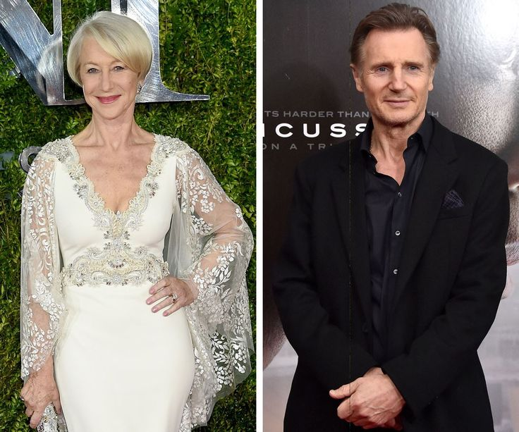 Helen Mirren and Liam Neeson starred together in 1981's Excalibur and fell in love as the cameras rolled. For a time, the pair even lived together, although the two would later go on to marry other people.