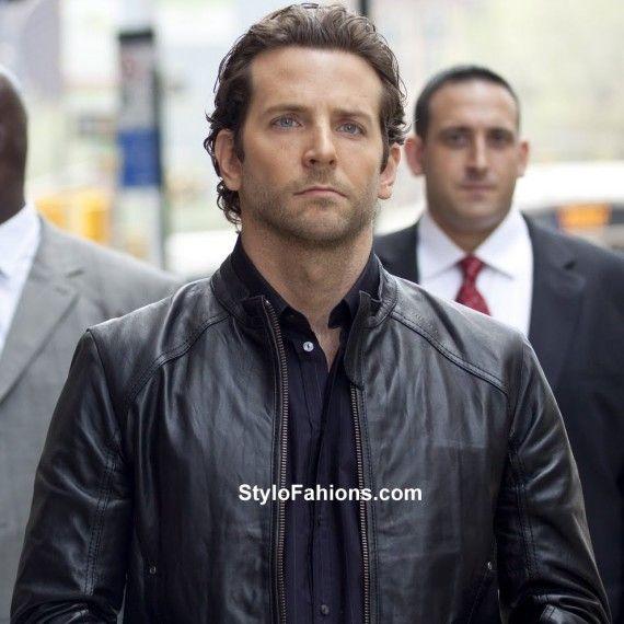 Bradley Cooper Limitless Movie Leather Jacket   Stylo FashionsStylo Fashions