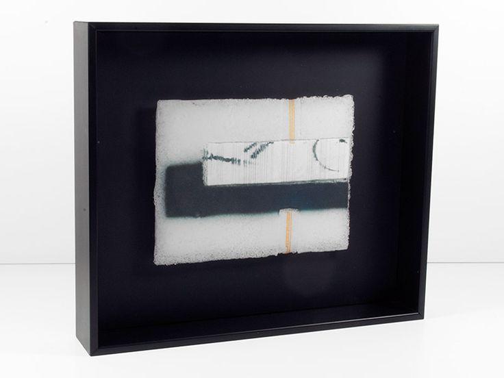 Junction Art Gallery - Jo Newman 'White Noise Series, 3' http://www.junctionartgallery.co.uk/artists/glass/jo-newman
