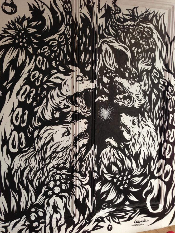 New Swanski piece at my work. Came out sick. #swanski #ftcsf