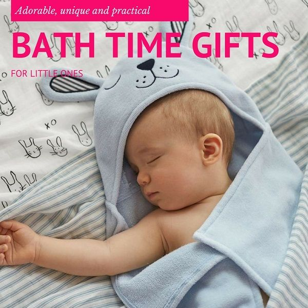 Bath time gifts for little ones - Gift Grapevine gift guide