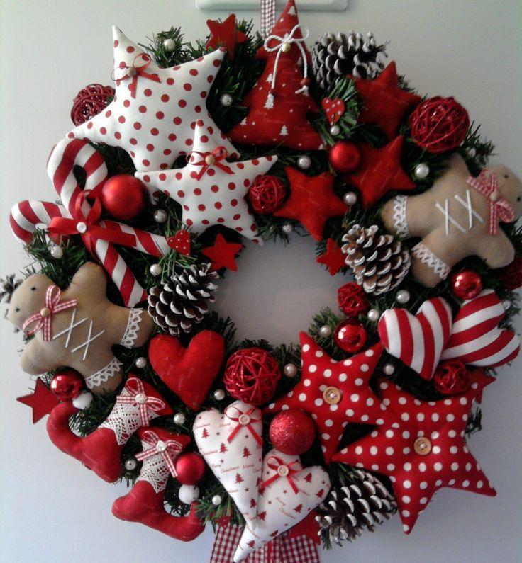 Best 25 Fabric Wreath Ideas On Pinterest Fabric Wreath