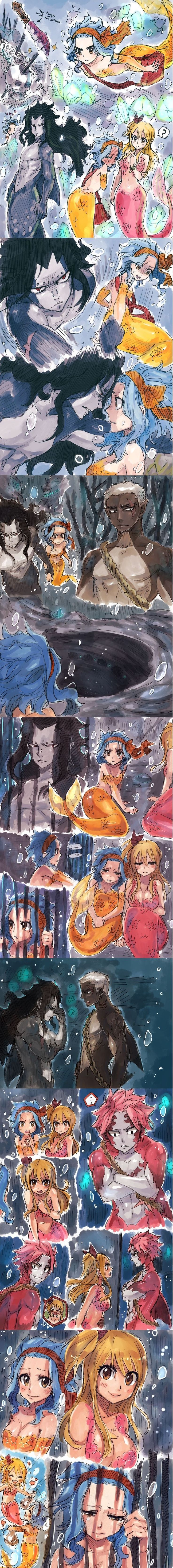 Fishy fairy tail