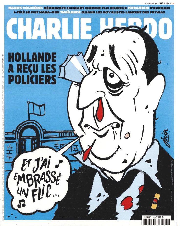 Charlie Hebdo - # 1266 - Mercredi 26 Octobre 2016 - Couverture : Juin
