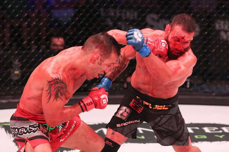 http://realcombatmedia.com/2017/07/official-bellator-181-campos-vs-girtz-3-results-photos/Follow   OFFICIAL BELLATOR 181: CAMPOS VS. GIRTZ 3 RESULTS & PHOTOS Derek Campos (18-6) defeated Brandon Girtz (14-6) via TKO (doctor stoppage) at 5:00 of round two Photos Here John Salter (14-3) defeated Kendall Grove (23-17) via technical submission (rear-naked choke) at 4:37 of round one Photos Here Emily Ducote (6-2) defeated Jessica Middleton (2-2) via unanimous decision (29-27, 29-28, 29-28)…