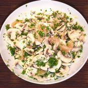 Salade aux champignons et pamplemousse - une recette Végétarien - Cuisine