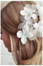 Hair Flowers @ Brides Of Beecroft