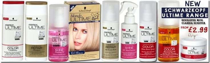 Schwarzkopf Ultime Range – Developed with Claudia Schiffer