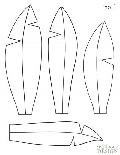 24 hr. Head Dress Template no. 1 - Page 001
