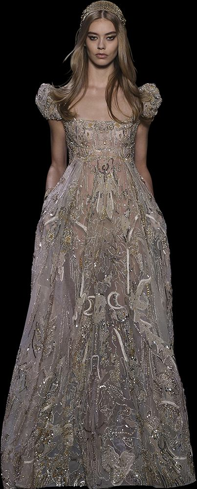 ELIE SAAB - Haute Couture - Automne Hiver 2015-2016 ✏✏✏✏✏✏✏✏✏✏✏✏✏✏✏✏ IDEE…