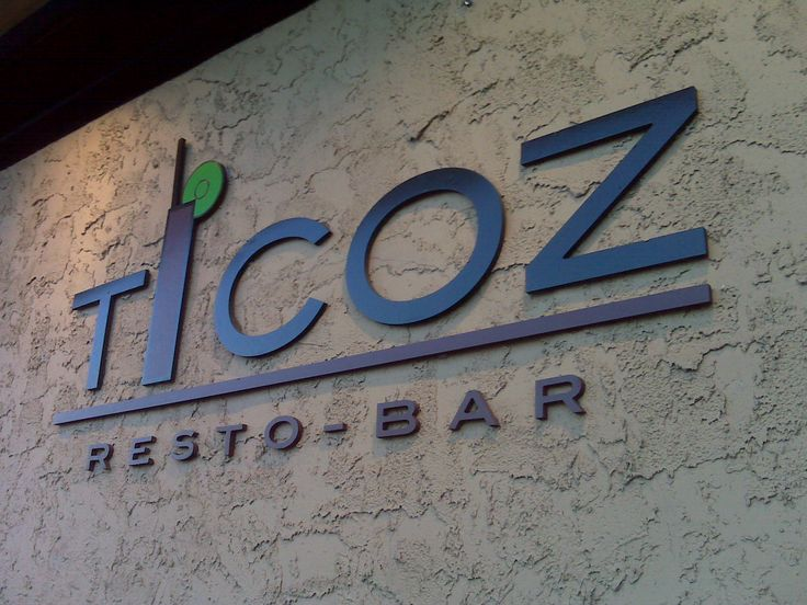 Ticoz...not one thing in the menu will disappoint you!