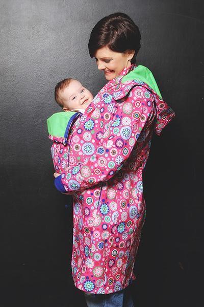 NANA babywearing coat - mandala