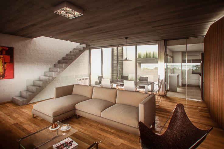ArtStation - G+H HOUSE Interior, Bruno Bolognesi