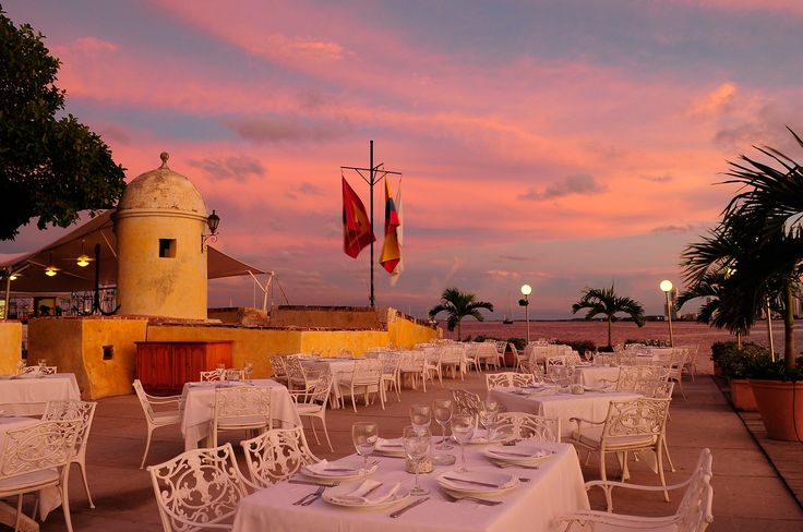 Where we had our wedding reception. Restaurante Club de Pesca - Cartagena de Indias